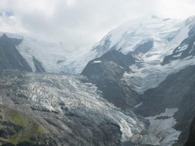 Bionnassay Glacier, Auvergne-Rhône-Alpes, France