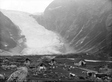 Boeyabreen Glacier, Norway