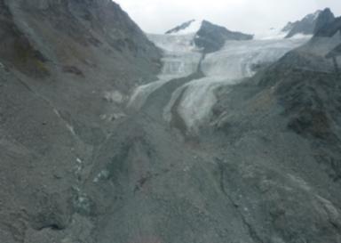 Glacier de Boveire, Valais, Switzerland