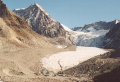 Glacier du Brenay, Valais, Switzerland