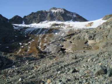 Calderas Glacier, Graubünden, Switzerland