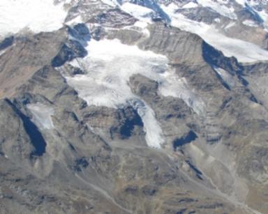 Vardet dal Cambrena Glacier, Graubünden, Switzerland