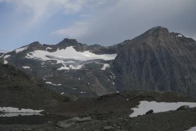 Ciamarella Glacier, Piedmont, Italy