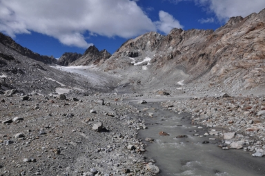 Ciardoney Glacier, Piedmont - Valle d' Aosta, Italy