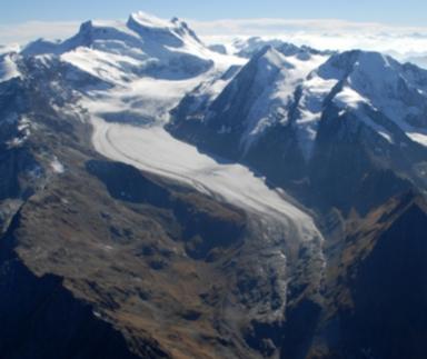 Glacier de Corbassière, Valais, Switzerland