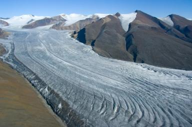 Crusoe Glacier, Nunavut, Canada