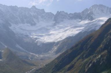 Damma Glacier, Uri, Switzerland
