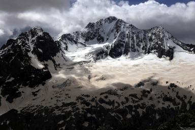 Disgrazia Glacier, Lombardy, Italy