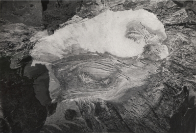 Falling Ice Glacier, Wyoming, United States