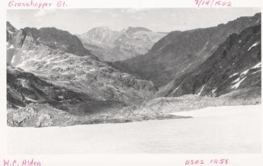 Grasshopper Glacier, Montana, United States