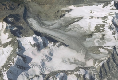 Gulkana Glacier, Alaska, United States