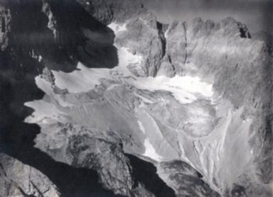 Höllental-Ferner Glacier, Bavaria, Germany