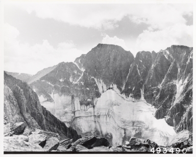 Unknown glacier, Montana, United States