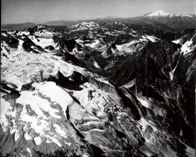 Icy Glacier, Washington, United States