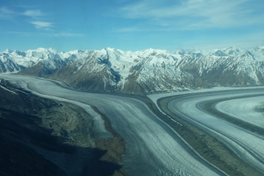 Kaskawulsh Glacier, Alaska, United States