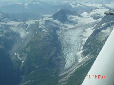 Big River Lobe Double Glacier, Alaska, United States