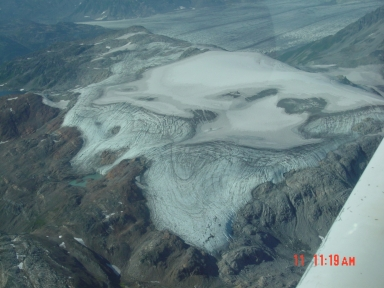 Big River Lobe Double Glacier, Alaska, United States