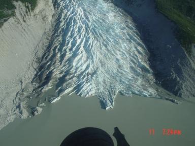 Aho Glacier, Alaska, United States