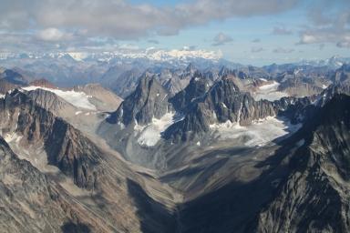 Unknown glacier, Alaska, United States