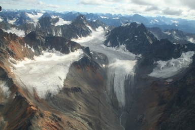 Unknown glacier, Alaska, United States