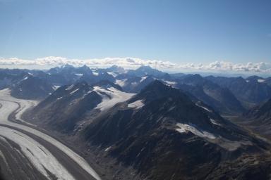 Neacola Glacier, Alaska, United States