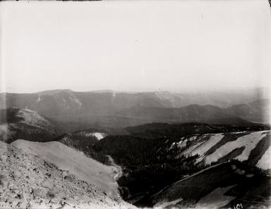 Newton Clark Glacier, Oregon, United States