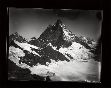 Matterhorn, from Château des Dames, Italy