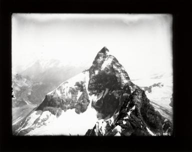 Matterhorn from summit of Dent d'Herens, Switzerland
