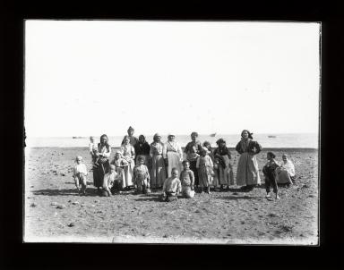 Peasants living on Stromboli, Sicily, Italy