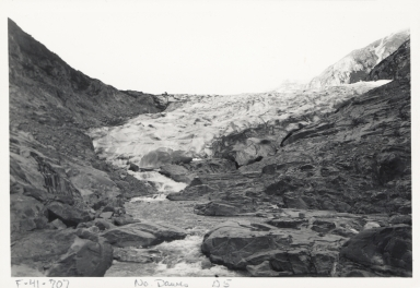 North Dawes Glacier, Alaska, United States; British Columbia, Canada