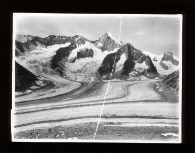 Oberaletschgletscher, Valais, Switzerland