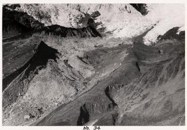 Unknown glacier, Cordillera Vilcabamba, Cusco, Peru