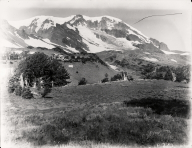 Rusk Glacier, Washington, United States