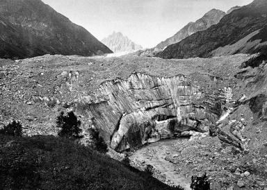 Tviberi Glacier, Samegrelo-Zemo Svaneti, Georgia
