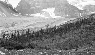 Victoria Glacier, Alberta, Canada