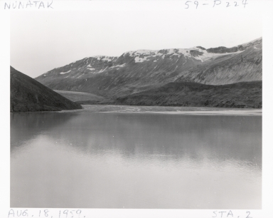 West Nunatak Glacier, Alaska, United States
