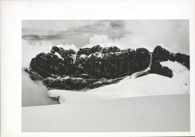 View across Northwall Firn to East Carstensz Top and glaciers, Indonesia