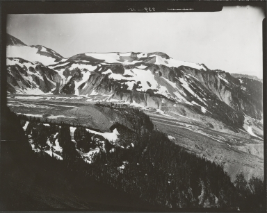 North Mowich Glacier, Washington