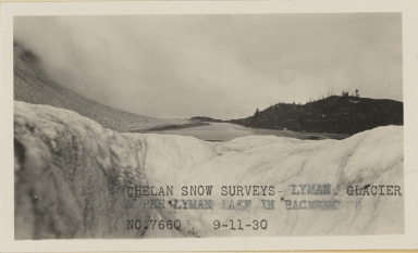 Lyman Glacier, Chelan county, Washington