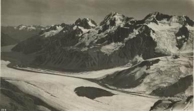 Murchison Glacier, New Zealand