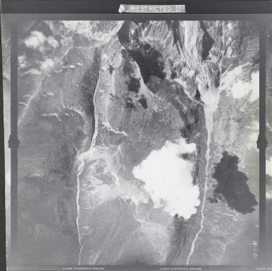 At head of Berry Creek, aerial photograph FL 18 V-41, Alaska
