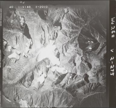 Oweegee Creek, aerial photograph FL 40 V-149, British Columbia