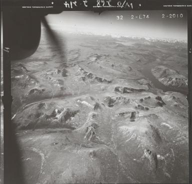 Gladys Lake, aerial photograph FL 47 L-74, British Columbia