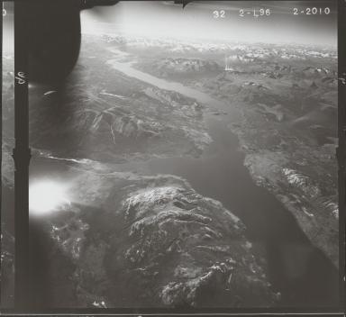 South of Tutshi Lake, aerial photograph FL 47 L-96, British Columbia