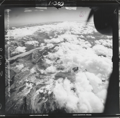 Isabella Pass, aerial photograph FL 55 R-1, Alaska