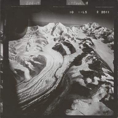 Mount Foraker, aerial photograph FL 58 L-5, Alaska