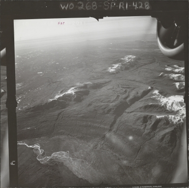 Tokositna Glacier, aerial photograph FL 58 R-18, Alaska