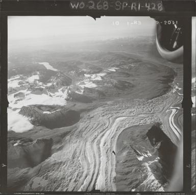 Mount Russell, aerial photograph FL 58 R-3, Alaska