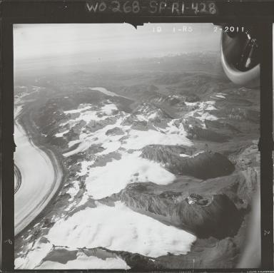 West of Kahiltna Glacier, aerial photograph FL 58 R-5, Alaska