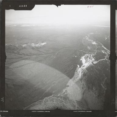 Kahiltna Glacier, aerial photograph FL 59 R-45, Alaska